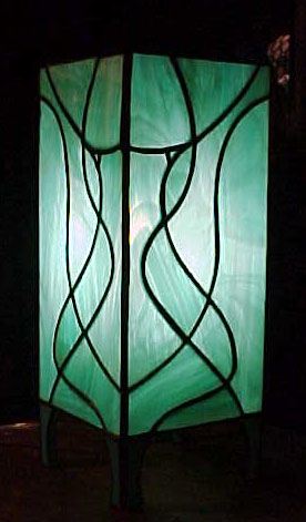 Small stained glass table lamps choice image table furniture visions stained glass lamps aloadofball