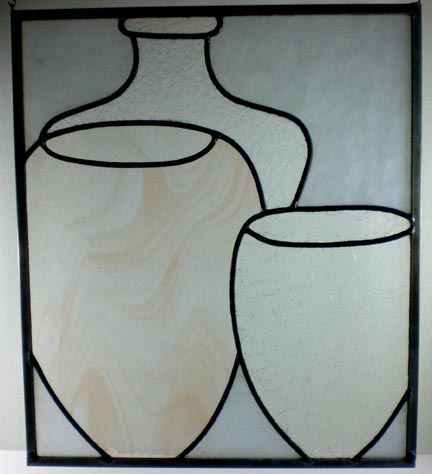 stained glass vessel window