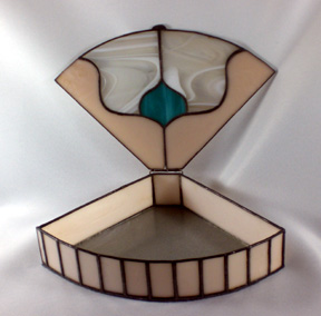stained glass box