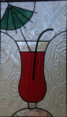 stained glass cocktail